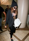 Selena Gomez at LAX Airport -14