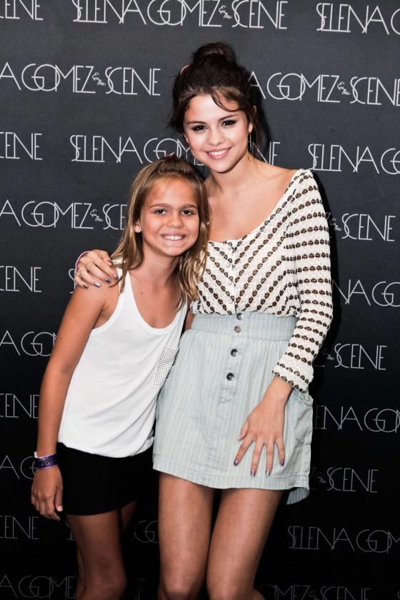 Selena Gomez at Meet and Greet in Rio-28 - GotCeleb