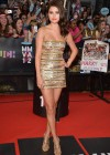 Selena Gomez Show her long legs in shinny dress at MuchMusic Video Awards 2012 in Toronto