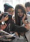 Selena Gomez - at the BBC - Radio 1 station -07