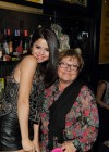 Selena Gomez at the Marilyn Monroe Exhibit-09