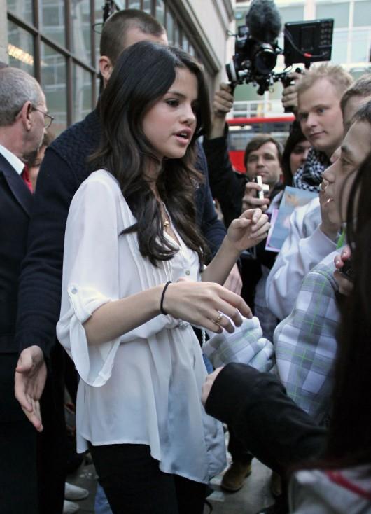 Selena Gomez – BBC Radio 1 in London