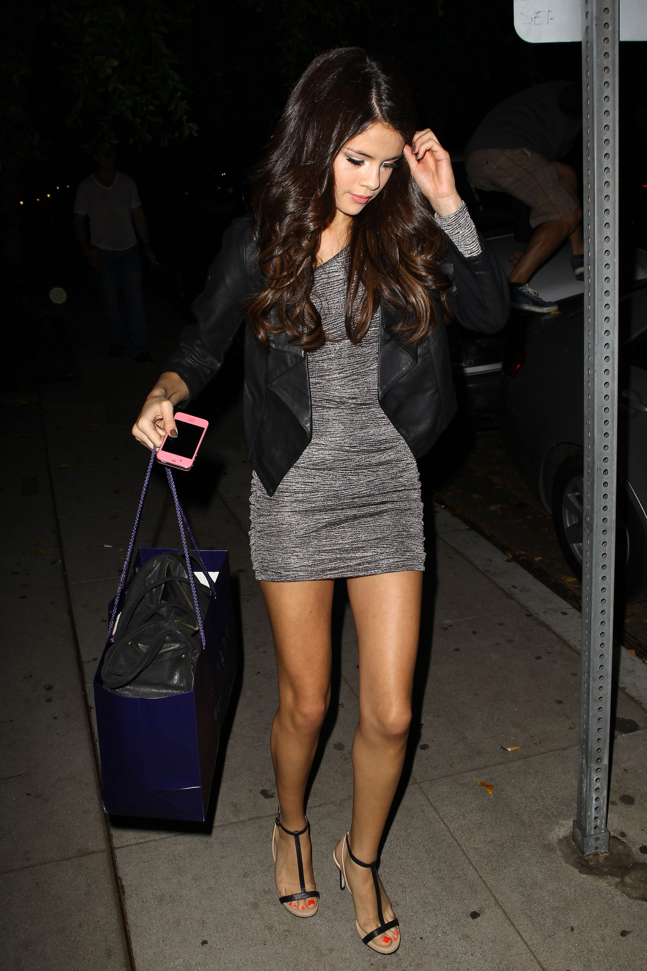 Selena Gomez - Leggy Candids in West Hollywood-13 | GotCeleb