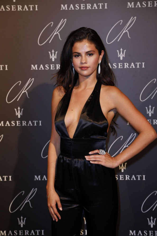 Selena Gomez - CR Fashion Book Issue N°5 Launch Party in Paris