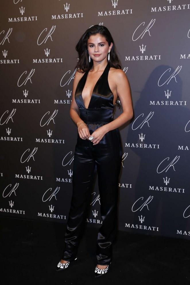 Selena Gomez CR Fashion Book Issue #5 Launch Party stills