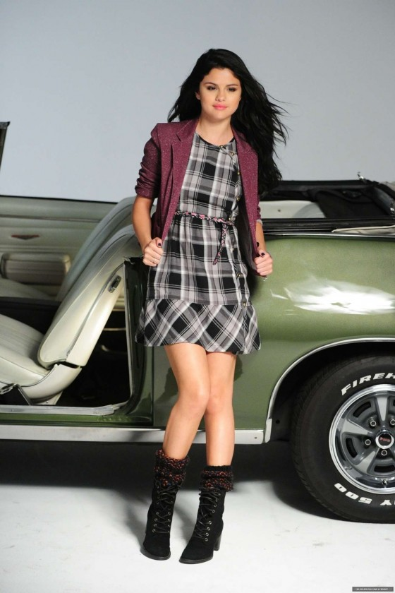 Selena Gomez - Showing Legs in Dream Out Loud Fall Photoshoot 2012