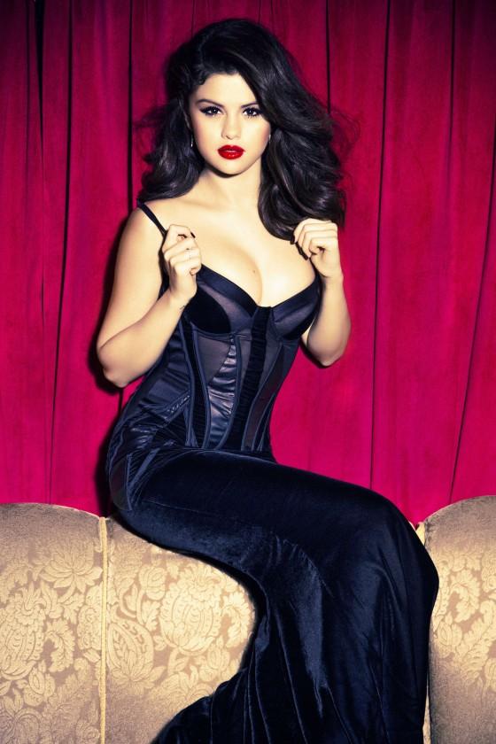 Selena Gomez – Ellen Von Unwerth photoshoot -01