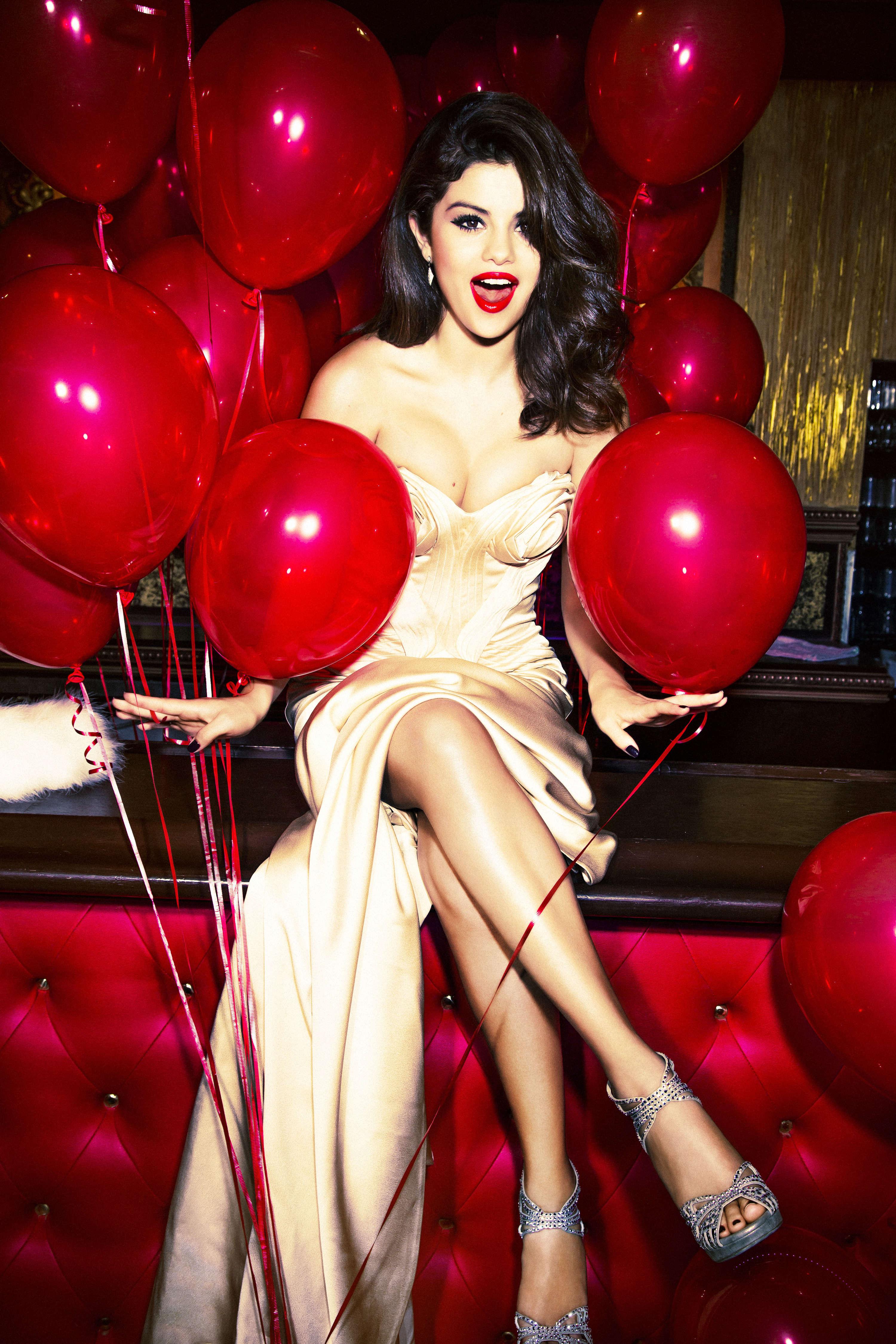 Selena Gomez - Ellen Von Unwerth photoshoot -03 - GotCeleb