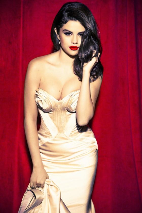 Selena Gomez – Ellen Von Unwerth photoshoot -04