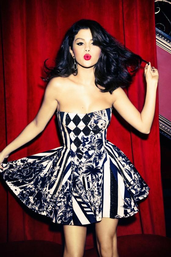 Selena Gomez – Ellen Von Unwerth photoshoot -05