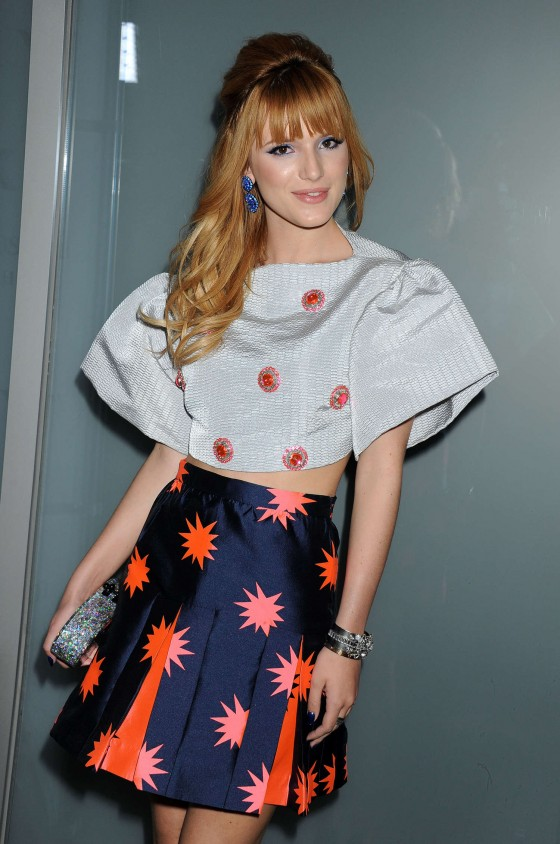 Bella Thorne: Flaunt Magazine Cover Party