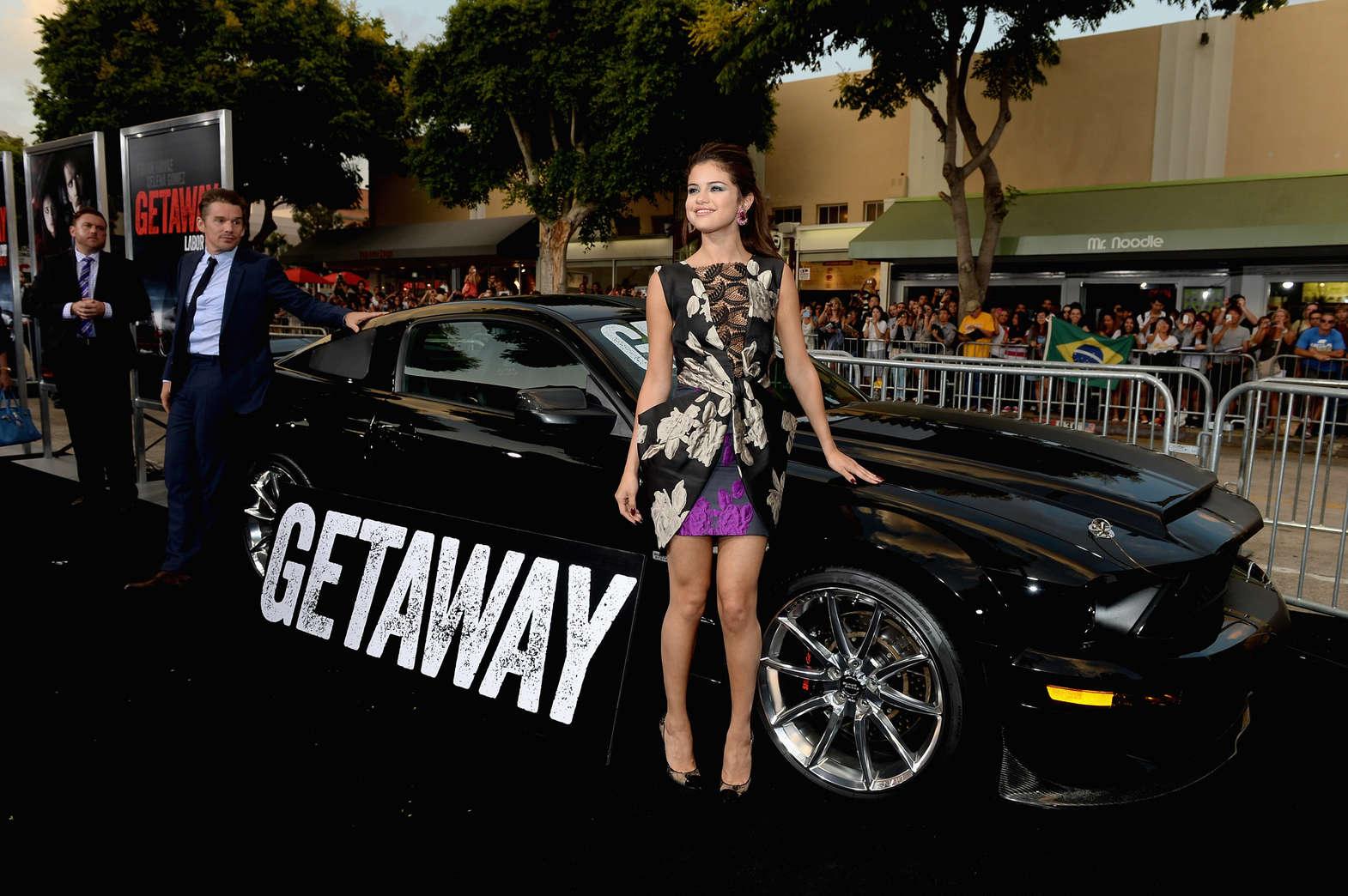 Selena Gomez - Getaway premiere in Westwood -08 - GotCeleb