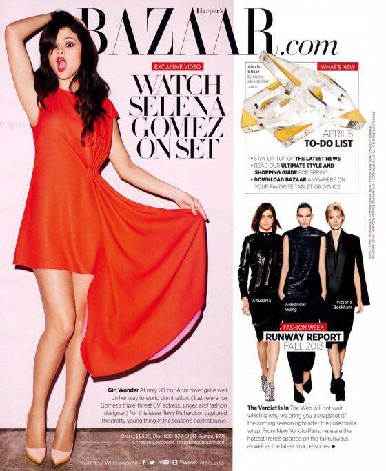 Selena Gomez – Harpers Bazaar 2013 -06