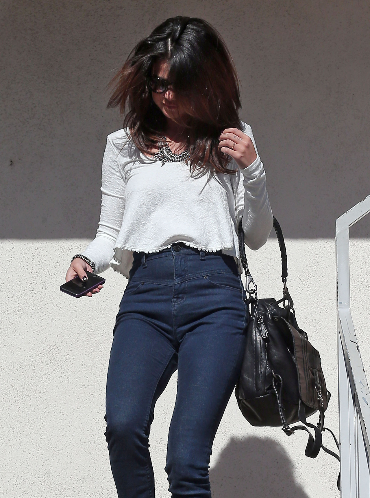 Selena Gomez In Jeans Out In Los Angeles Gotceleb