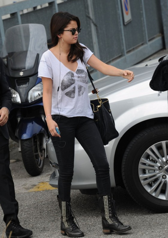 Selena Gomez out and about at the Venice Film Festival