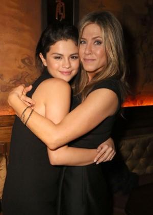 Selena Gomez & Jennifer Aniston - CAKE Party for Jennifer Aniston in Hollywood