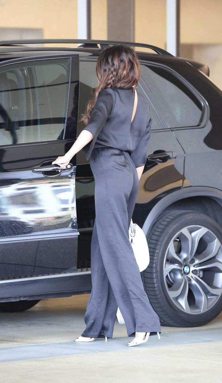 Selena Gomez – Leaving a Business Meeting in LA