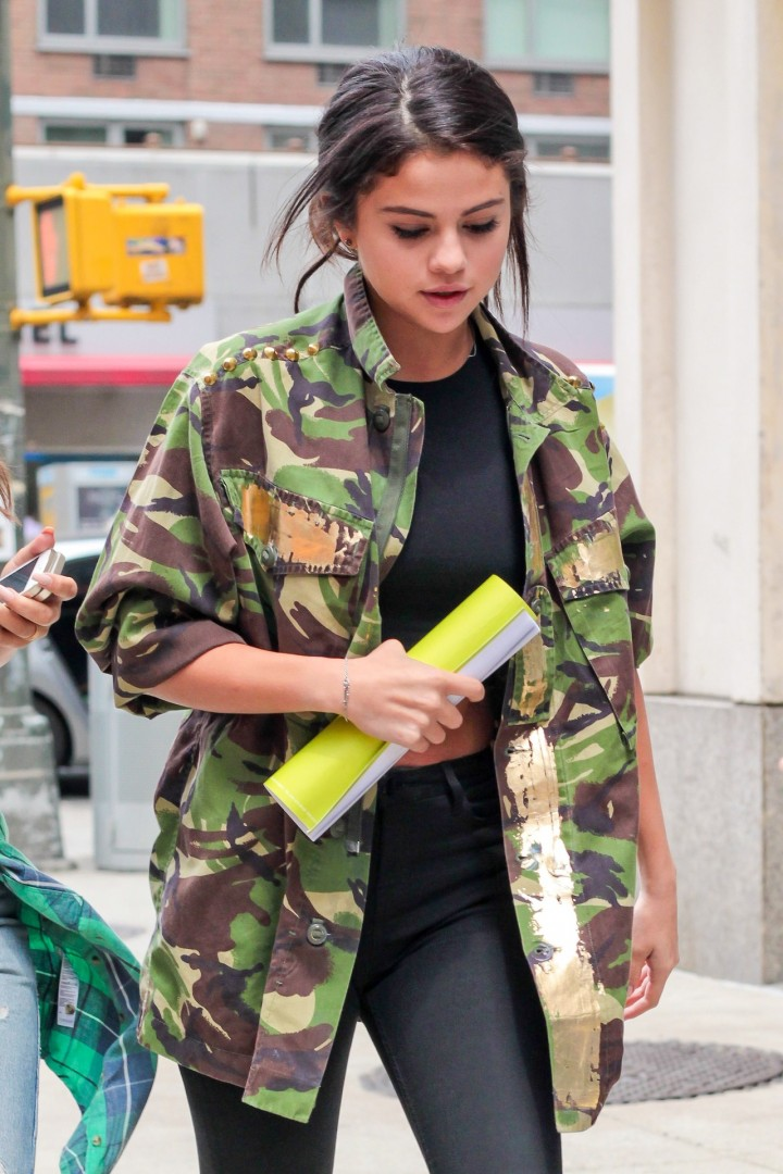 Selena Gomez Leaving a meeting in New York City-08
