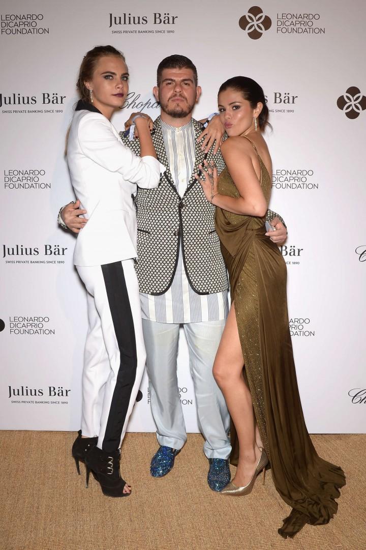 Selena Gomez - Leonardo DiCaprio 2014 Foundation Inaugurational Gala