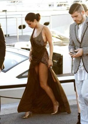 Selena Gomez - Leonardo DiCaprio's Charity Gala in Saint Tropez