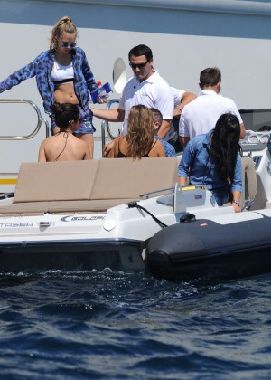 Selena Gomez Photos: Black Mini Dress -23