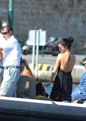 Selena Gomez Photos: Black Mini Dress -28