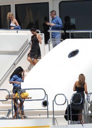 Selena Gomez Photos: Black Mini Dress -34