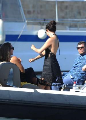 Selena Gomez Photos: Black Mini Dress -38