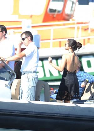 Selena Gomez Photos: Black Mini Dress -41