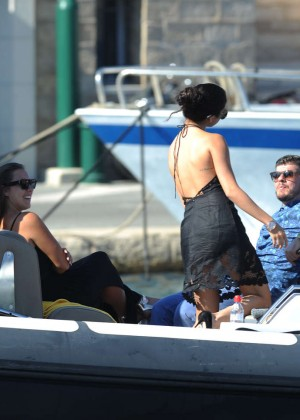 Selena Gomez Photos: Black Mini Dress -43
