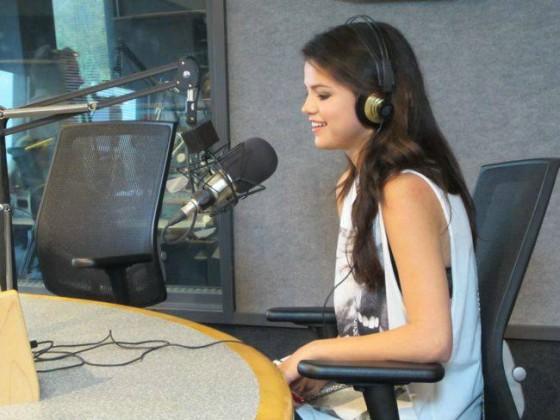Selena Gomez On Kiss 108 Matty In The Morning 18 Gotceleb