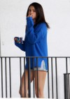 Selena Gomez braless On set Spring Breakers in Florida-07