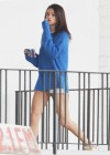 Selena Gomez braless On set Spring Breakers in Florida-11