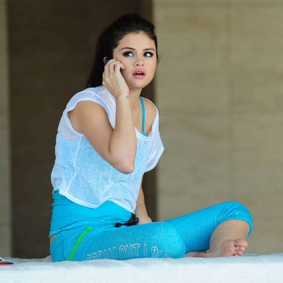 Selena Gomez on the Set of a Dream Out Loud in Los Angeles-16