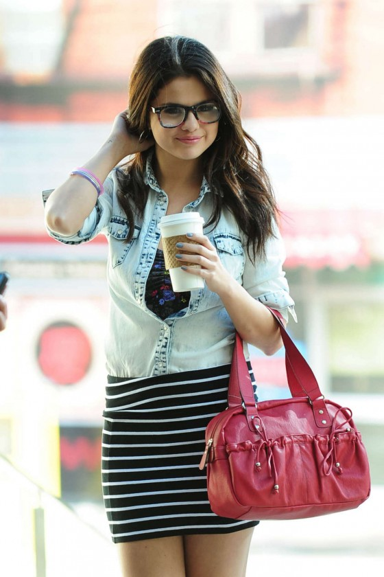 Selena Gomez on the Set of a Dream Out Loud in Los Angeles-20