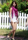 "Selena Gomez - On the set of ""Parental Guidance"" in Los Angeles"