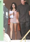 Selena Gomez on the set of Spring Breakers-13