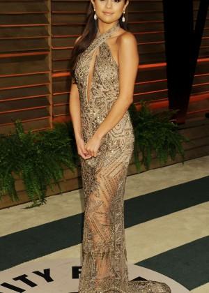 Selena Gomez: Oscar 2014 - Vanity Fair Party -02