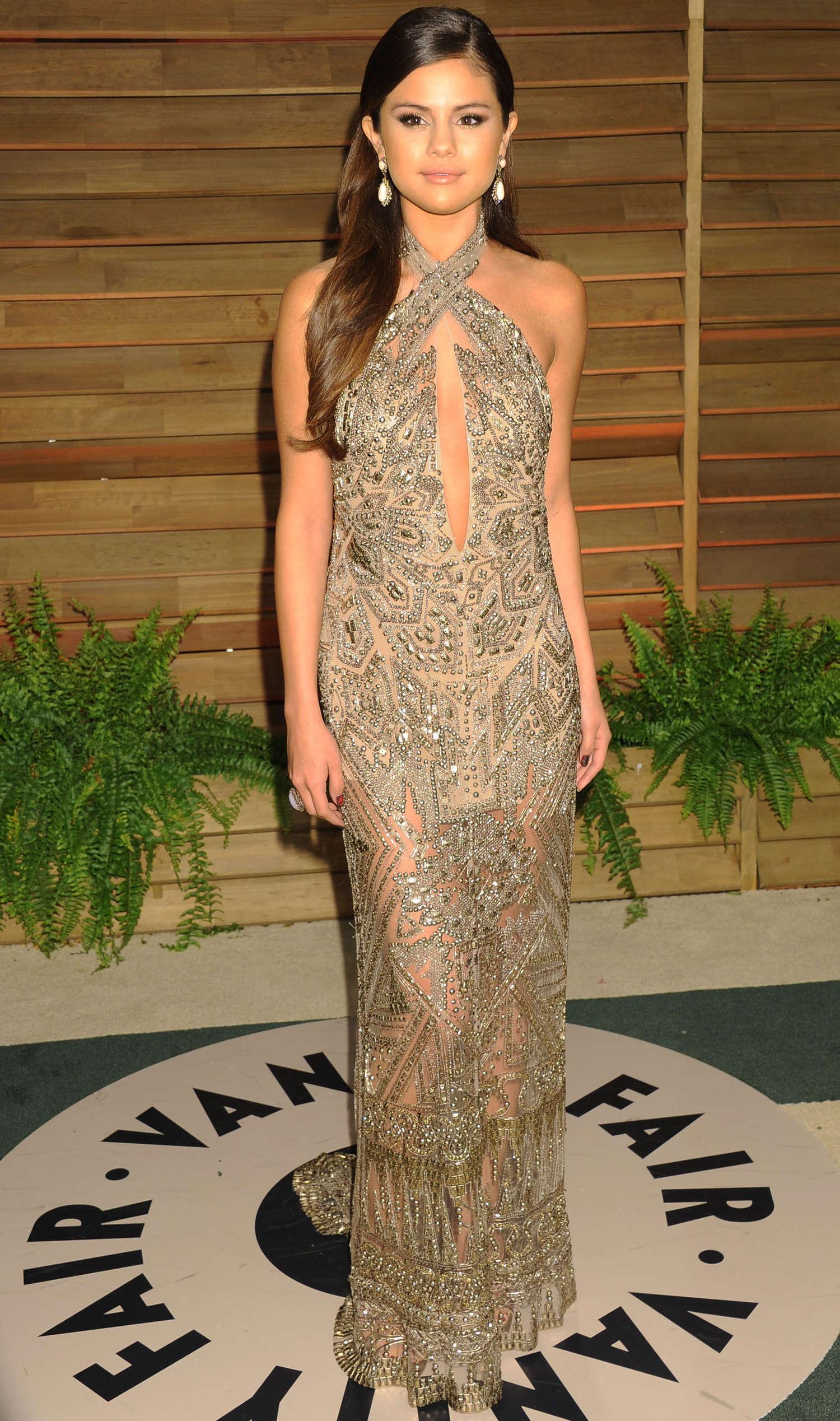 Selena Gomez Oscar 2014 Vanity Fair Party 07 Gotceleb