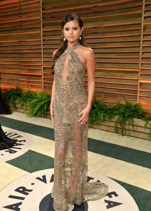 Selena Gomez: Oscar 2014 - Vanity Fair Party -08