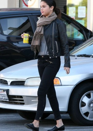 Selena Gomez in Tight Pants out in Studio City