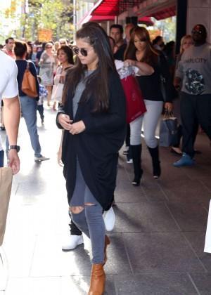 Selena Gomez out in Toronto