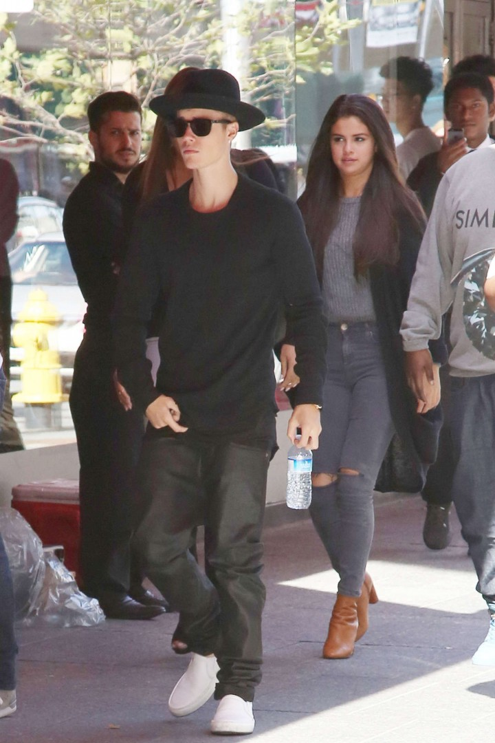 Selena Gomez out in Toronto -05