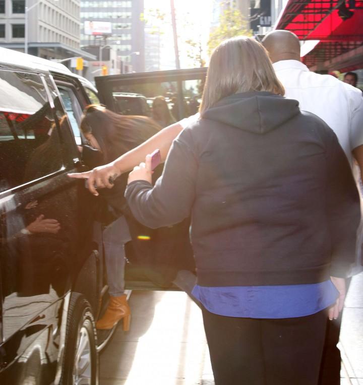 Selena Gomez out in Toronto -08