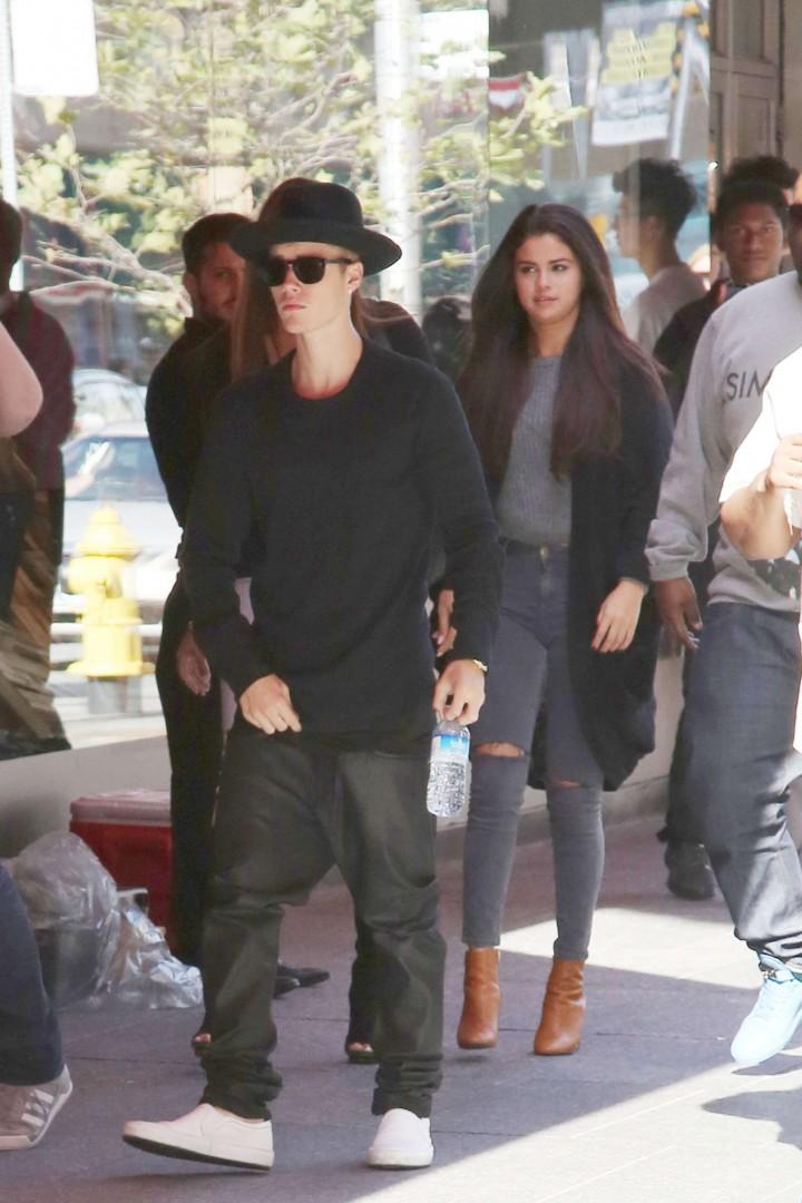 Selena Gomez out in Toronto -09