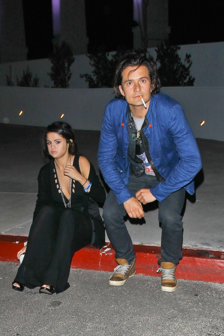 Selena Gomez Outside LA Forum