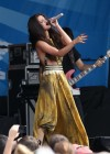 Selena Gomez - performing at a radio station concert in Boston -02