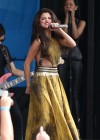 Selena Gomez - performing at a radio station concert in Boston -06