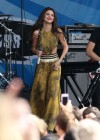 Selena Gomez - performing at a radio station concert in Boston -07