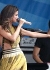Selena Gomez - performing at a radio station concert in Boston -09